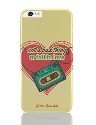 iPhone 6 Plus/iPhone 6S Plus Covers | Not A Bad Thing - Justin Timberlake iPhone 6 Plus / 6S Plus Covers Online India
