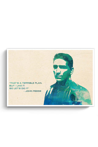 Posters Online | John Reese - Person Of Interest Poster Online India | Designed by: SkyLit Designs