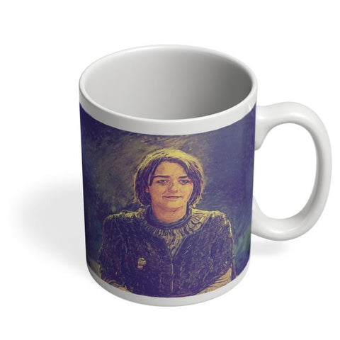 Arya Stark Painting Coffee Mug Online India
