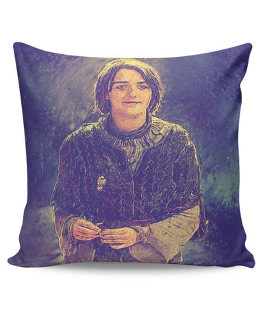 Arya Stark Painting Cushion Cover Online India