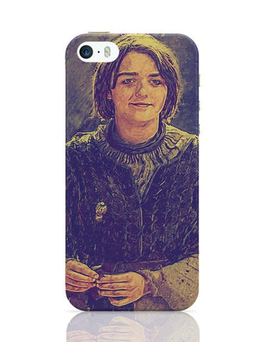 Arya Stark Painting iPhone 5/5S Covers Cases Online India