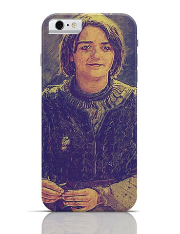 Arya Stark Painting iPhone 6 / 6S Covers Cases