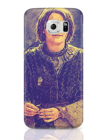 Arya Stark Painting Samsung Galaxy S6 Covers Cases Online India
