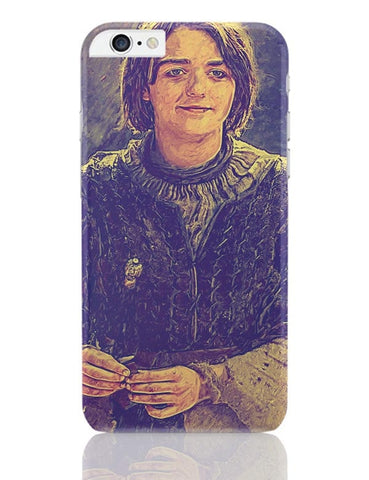 Arya Stark Painting iPhone 6 Plus / 6S Plus Covers Cases Online India