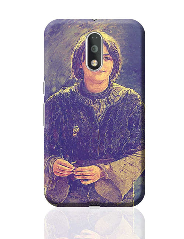Arya Stark Painting Moto G4 Plus Online India
