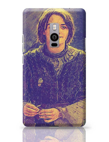 Arya Stark Painting OnePlus Two Covers Cases Online India