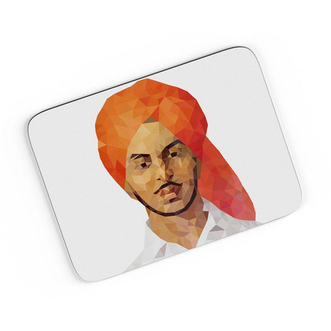 Bhagat Singh Poly Art A4 Mousepad Online India