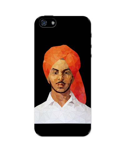 iPhone 5 / 5S Cases & Covers | Bhagat Singh Poly Art iPhone 5 / 5S Case Online India