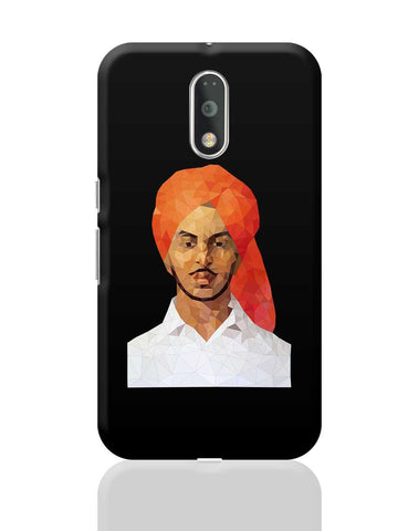 Bhagat Singh Poly Art Moto G4 Plus Online India