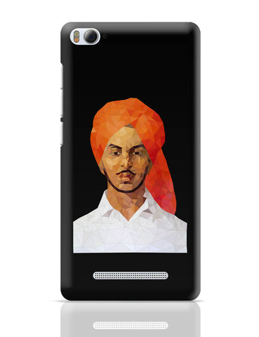 Xiaomi Mi 4i Covers | Bhagat Singh Poly Art Xiaomi Mi 4i Cover Online India