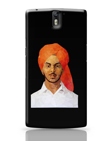 OnePlus One Covers | Bhagat Singh Poly Art OnePlus One Cover Online India