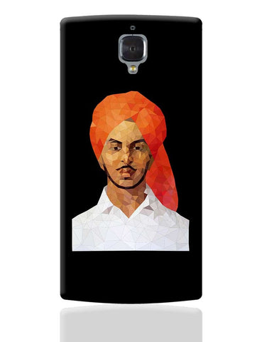 Bhagat Singh Poly Art OnePlus 3 Cover Online India