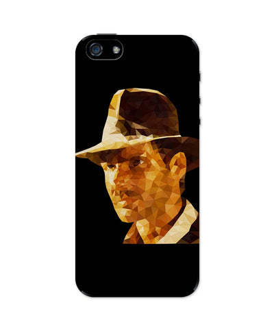 iPhone 5 / 5S Cases & Covers | Harrison Ford Poly Art iPhone 5 / 5S Case Online India