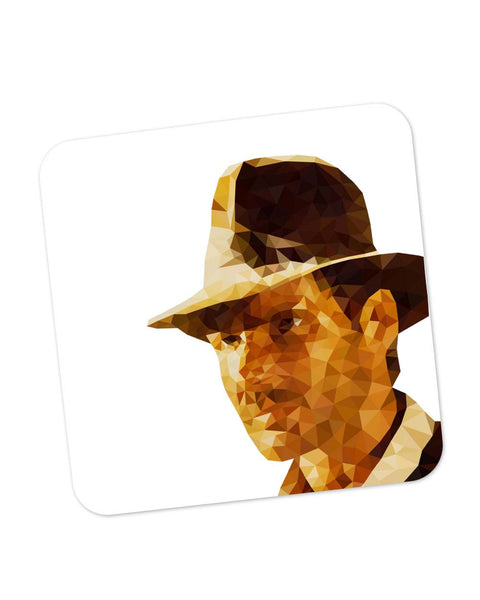 Buy Coasters Online | Harrison Ford Poly Art Coaster Online India | PosterGuy.in