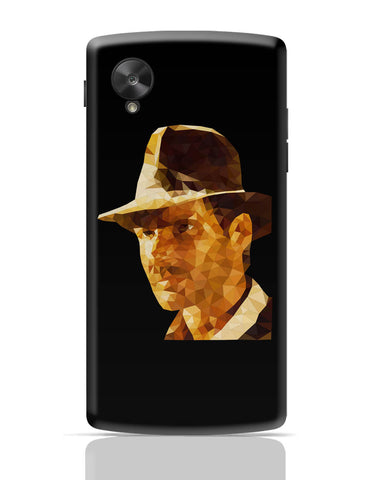 Google Nexus 5 Covers | Harrison Ford Poly Art Google Nexus 5 Cover Online India