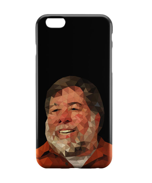 iPhone 6 Case & iPhone 6S Case | Steve Wozniak Low Poly Art iPhone 6 | iPhone 6S Case Online India | PosterGuy
