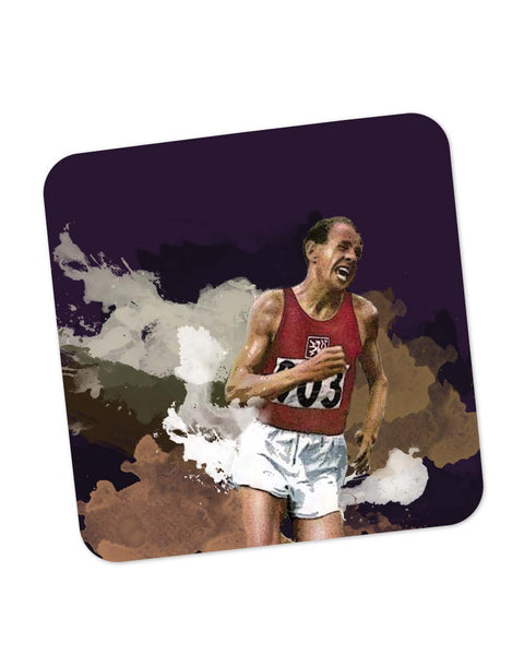 Buy Coasters Online | Emil Zatopek Coaster Online India | PosterGuy.in