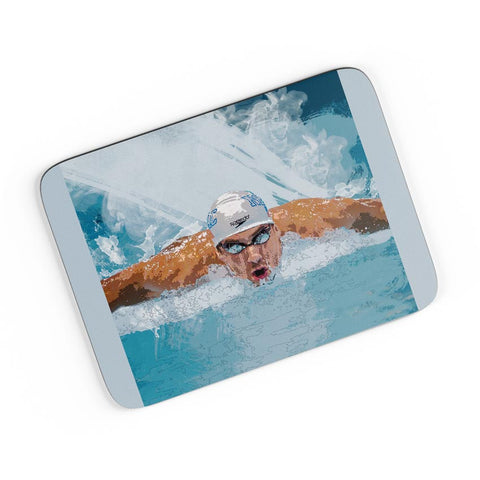 Michael Phelps Swimming Champion A4 Mousepad Online India