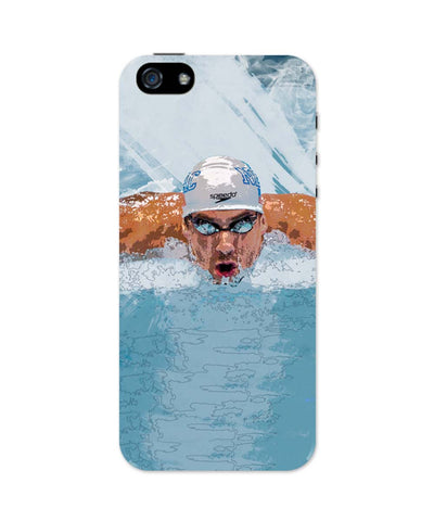 iPhone 5 / 5S Cases & Covers | Michael Phelps Swimming Champion iPhone 5 / 5S Case Online India
