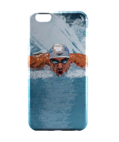 iPhone 6 Case & iPhone 6S Case | Michael Phelps Swimming Champion iPhone 6 | iPhone 6S Case Online India | PosterGuy
