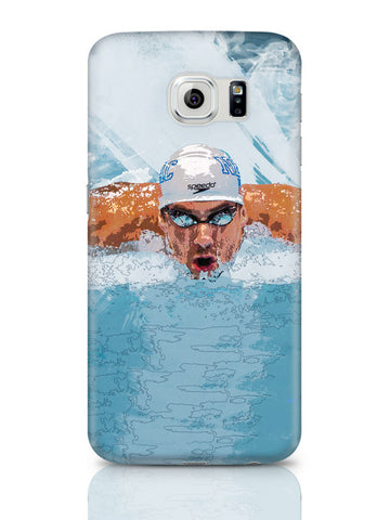 Samsung Galaxy S6 Covers & Cases | Michael Phelps Swimming Champion Samsung Galaxy S6 Covers & Cases Online India