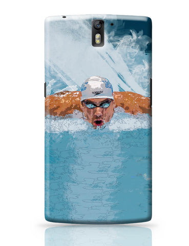 OnePlus One Covers | Michael Phelps Swimming Champion OnePlus One Cover Online India