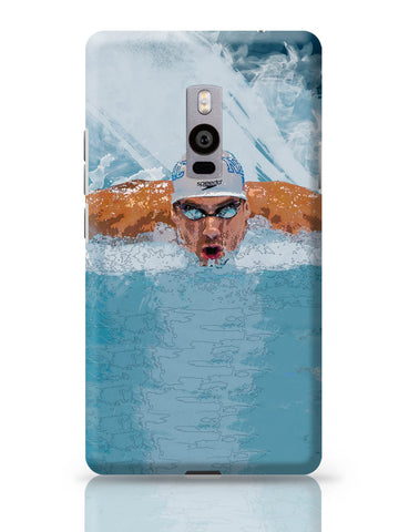 OnePlus Two Covers | Michael Phelps Swimming Champion OnePlus Two Cover Online India