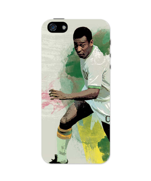 iPhone 5 / 5S Cases & Covers | Brazil Legend Pele Illustration iPhone 5 / 5S Case Online India
