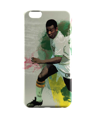 iPhone 6 Case & iPhone 6S Case | Brazil Legend Pele Illustration iPhone 6 | iPhone 6S Case Online India | PosterGuy