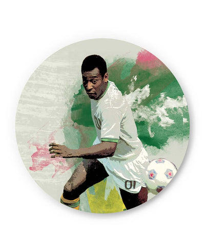PosterGuy | Brazil Legend Pele Illustration Fridge Magnet 1583047519-FM Online India