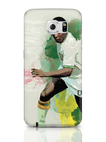 Samsung Galaxy S6 Covers & Cases | Brazil Legend Pele Illustration Samsung Galaxy S6 Covers & Cases Online India