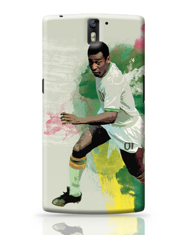 OnePlus One Covers | Brazil Legend Pele Illustration OnePlus One Cover Online India