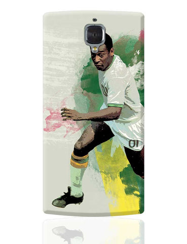 Brazil Legend Pele Illustration OnePlus 3 Cover Online India