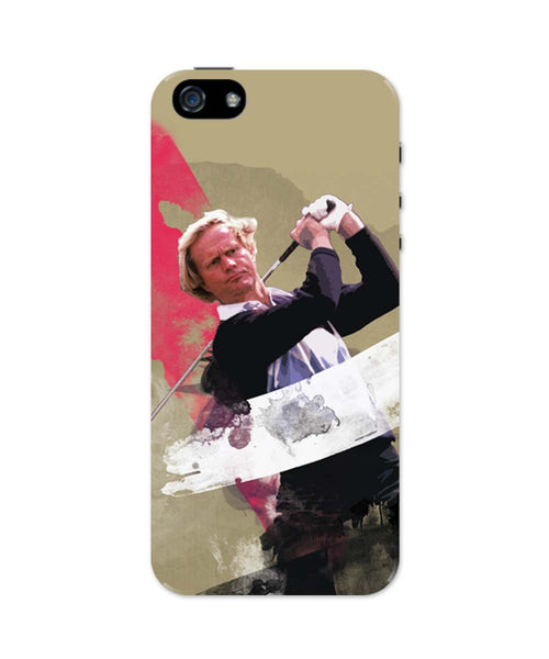 "iPhone 5 / 5S Cases & Covers | Jack William Nicklaus ""The Golden Bear"" iPhone 5 / 5S Case Online India"