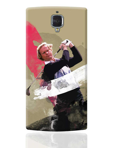 "Jack William Nicklaus ""The Golden Bear"" OnePlus 3 Cover Online India"