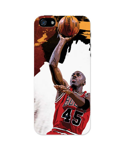 iPhone 5 / 5S Cases & Covers | Michael Jordan Living the Dream iPhone 5 / 5S Case Online India
