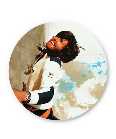 PosterGuy | Reinhold Messner The Mountain Man Fridge Magnet 1583077519-FM Online India