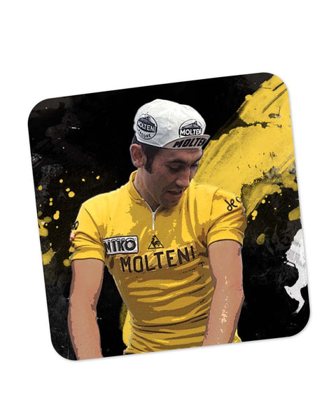 Buy Coasters Online | Eddy Merckx Bicycle Racer Coaster Online India | PosterGuy.in