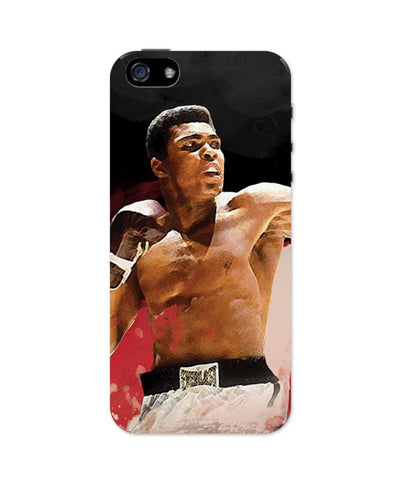 iPhone 5 / 5S Cases & Covers | The Great Muhammad Ali iPhone 5 / 5S Case Online India