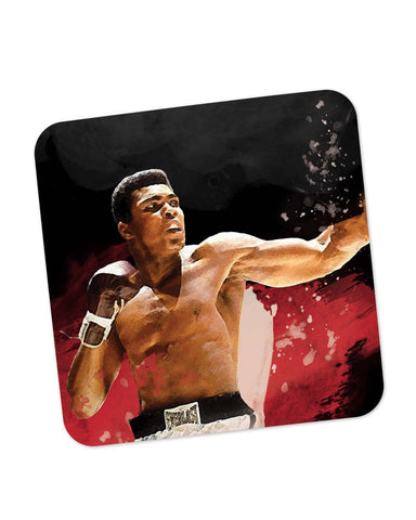 Buy Coasters Online | The Great Muhammad Ali Coaster Online India | PosterGuy.in