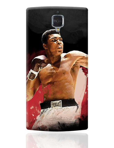 The Great Muhammad Ali OnePlus 3 Cover Online India