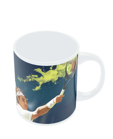 Coffee Mugs Online | Roger Federer Tennis Legend Mug Online India