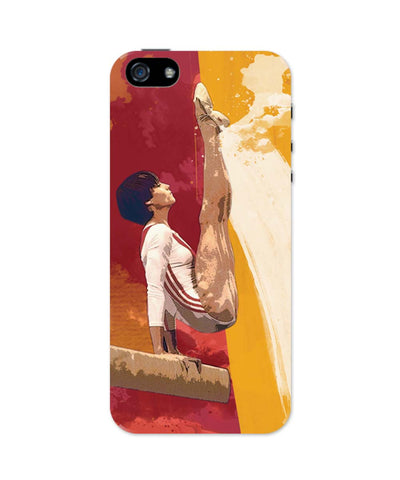 iPhone 5 / 5S Cases & Covers | Nadia Comaneci iPhone 5 / 5S Case Online India