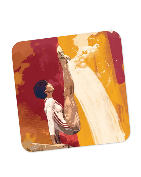 Buy Coasters Online | Nadia Comaneci Coaster Online India | PosterGuy.in