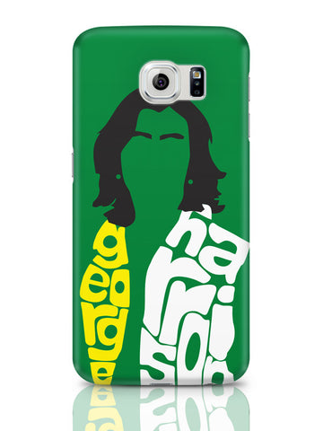 Samsung Galaxy S6 Covers & Cases | George Harrison Typography | Beatles Legend Samsung Galaxy S6 Covers & Cases Online India