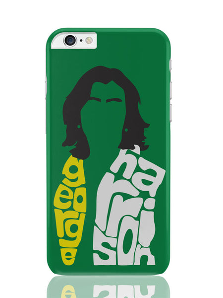 iPhone 6 Plus / 6S Plus Covers & Cases | George Harrison Typography | Beatles Legend iPhone 6 Plus / 6S Plus Covers and Cases Online India