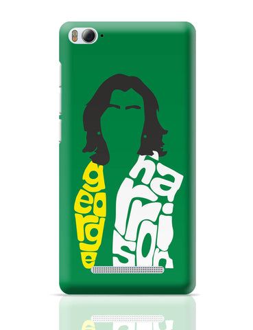Xiaomi Mi 4i Covers | George Harrison Typography | Beatles Legend Xiaomi Mi 4i Cover Online India