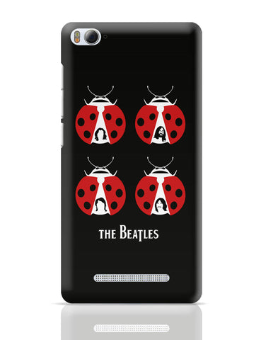 Xiaomi Mi 4i Covers | Red Beatles Illustration Xiaomi Mi 4i Cover Online India