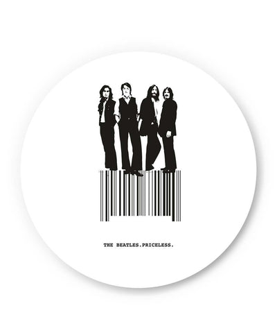 PosterGuy | The Beatles Priceless Fan Art Fridge Magnet Online India by Design Walrus