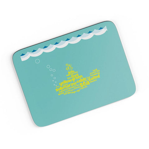 Yellow Submarines | The Beatles Inspired A4 Mousepad Online India